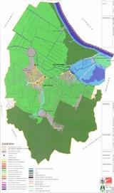 Harta Comunei Luncavita